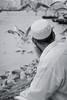 Feeding the birds, Dubai Creek