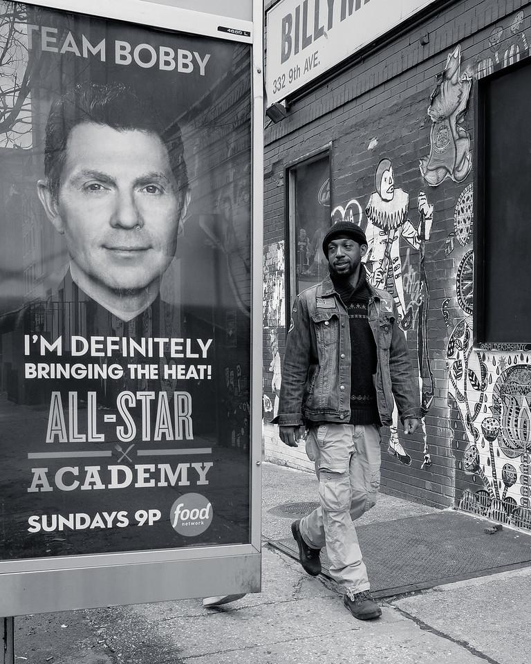 Grafitti in Manhattan