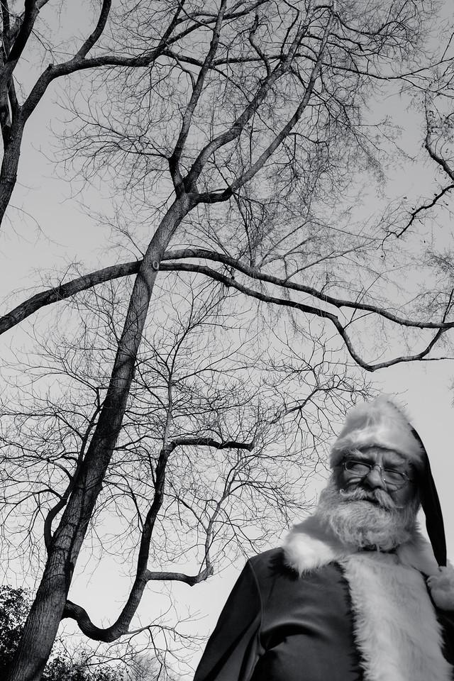 Santa is Central Park