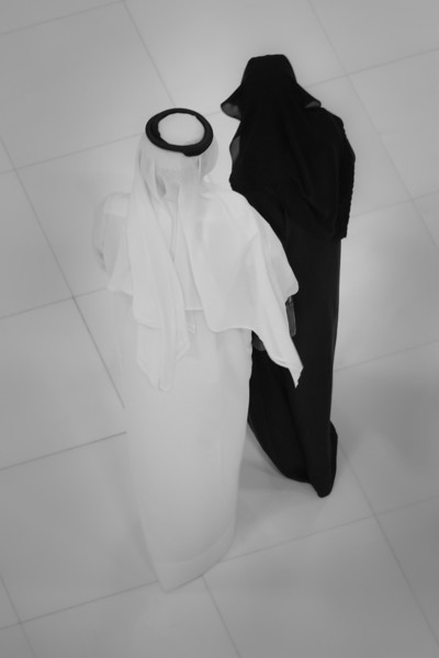 Black and White, Dubai Mall