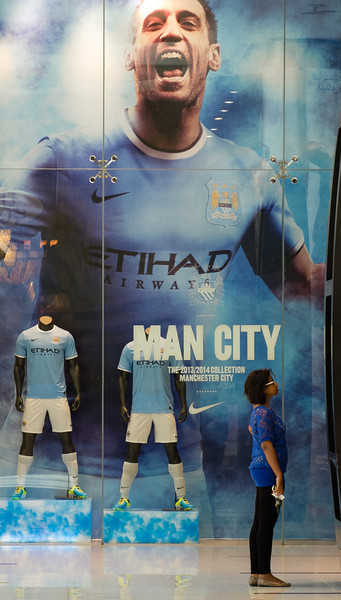 Man City, Dubai Mall