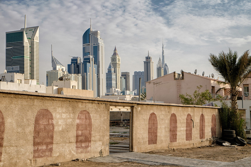 Old making place for new - Satwa, Dubai