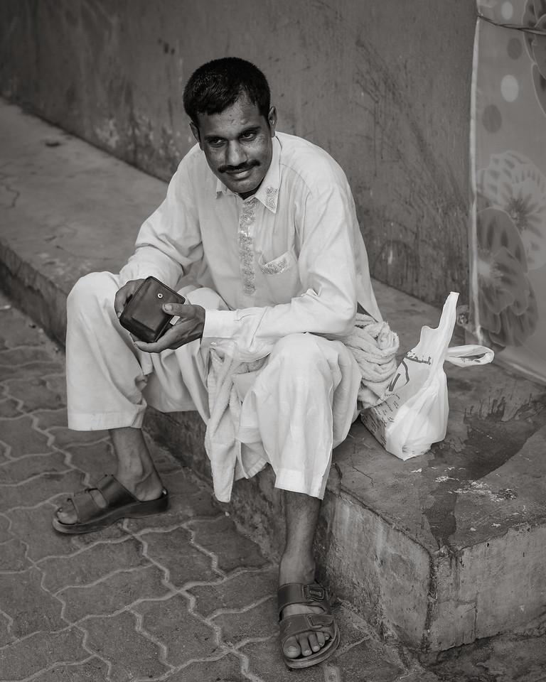 Walking the streets of Satwa, Dubai