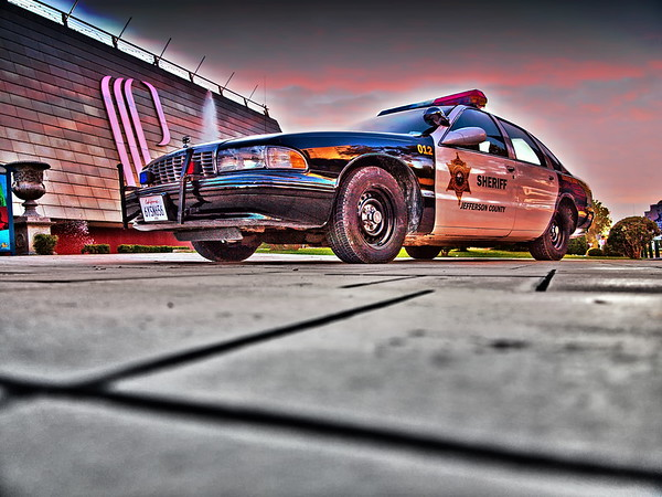 California Sheriff Car