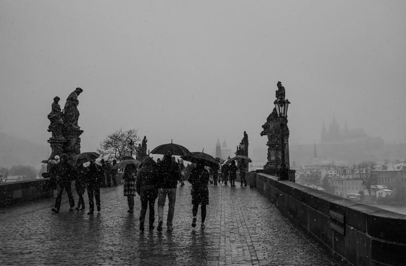 Crossing Charles  Prague, Czech Republic