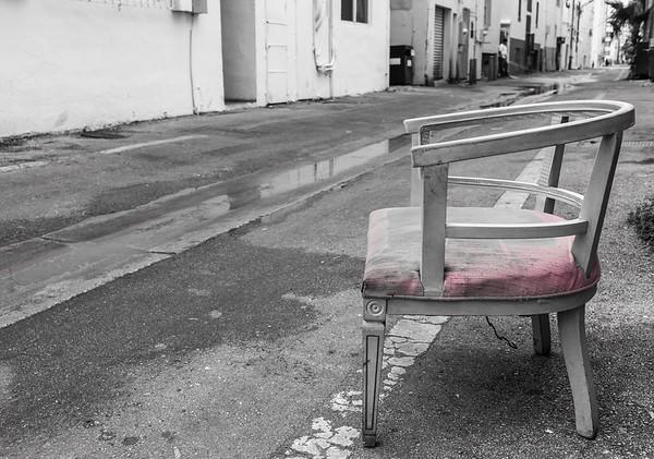 She Was Left Alone  South Beach, Miami, FL