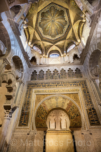 THE MEZQUITA, CATHEDRAL WITHIN A MOSQUE, II