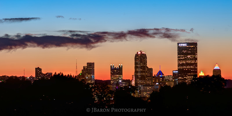 Pittsburgh Skyline at Twilight
