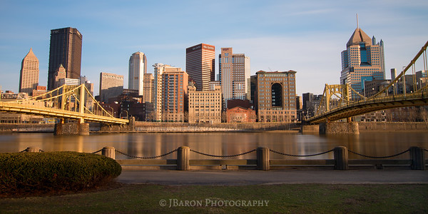 Pittsburgh Skyline from Allegheny Landing