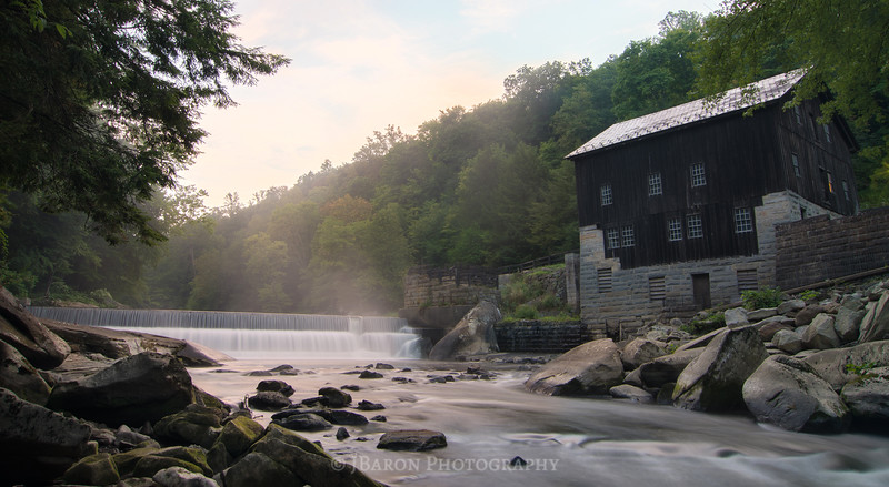 Summer Morning at McConnells Mill II