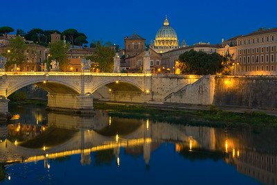 Bridge of the Angels Blue Hour