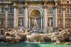 Trevi Fountain in Day