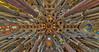 Ceiling of La Sagrada Familia, Barcelona