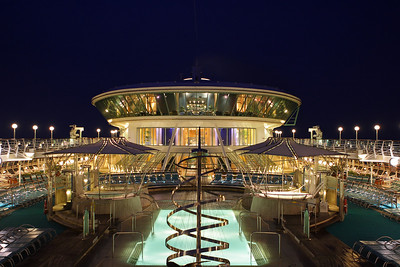 Night Shot aboard the Royal Caribbean
