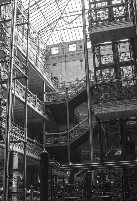 Bradbury Building, Los Angeles, California