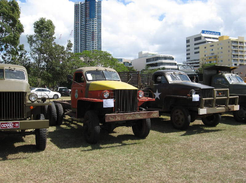 An unrestored US6 made it to the event for the successful world-record attempt Photo by S. Malikoff
