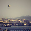 Balloon over the Bosphorus