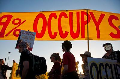 General Strike, Occupy Oakland, Oakland, CA
