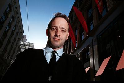 Author and NPR commentator David Sedaris San Francisco, CA