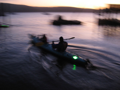 Night Kayak, Point Reyes, CA