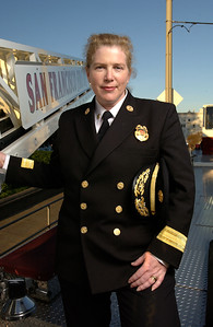 San Francisco Fire Dept. Chief Joanne Hayes-White for San Francisco Magazine