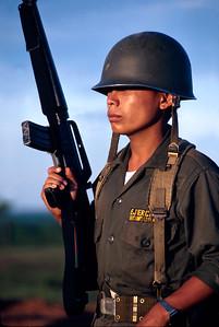 Honduran Soldier - Mocoron, Honduras