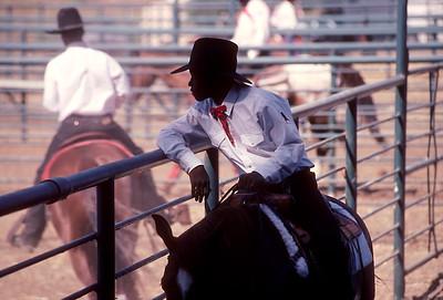 El Vaquero - Bill Pickett Rodeo, Dublin CA.