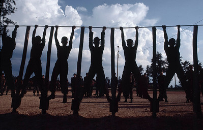 Honduran Army troops, Mocaron, Honduras