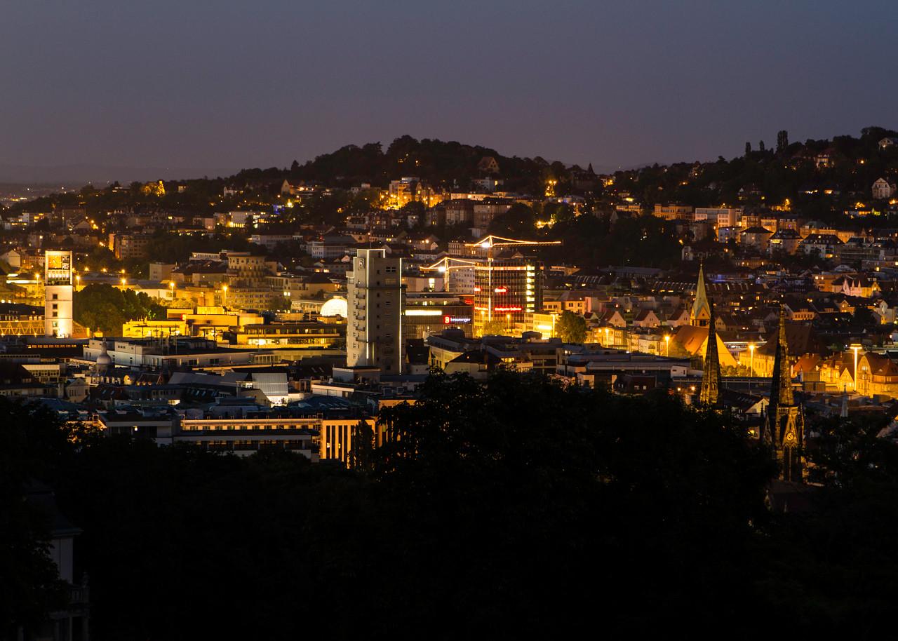 Stuttgart @ Night