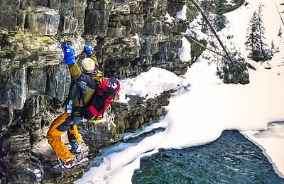 Ice climber near Big Sky, Montana - 3-2 - 72 ppi