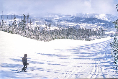 Skier(s) at Big Sky, Montana - 11 - 72 ppi