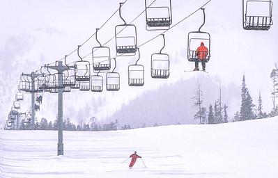 Skier(s) at Big Sky, Montana - 9 - 72 ppi