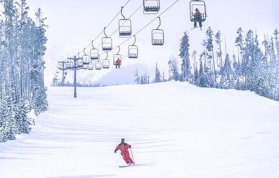 Skier(s) at Big Sky, Montana - 1 - 72 ppi