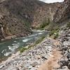 Jack Creek Canyon at a moderate flow.