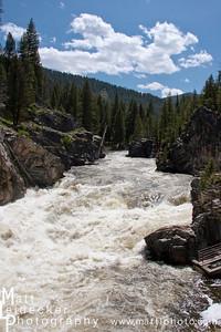Daggar Falls at 7 feet