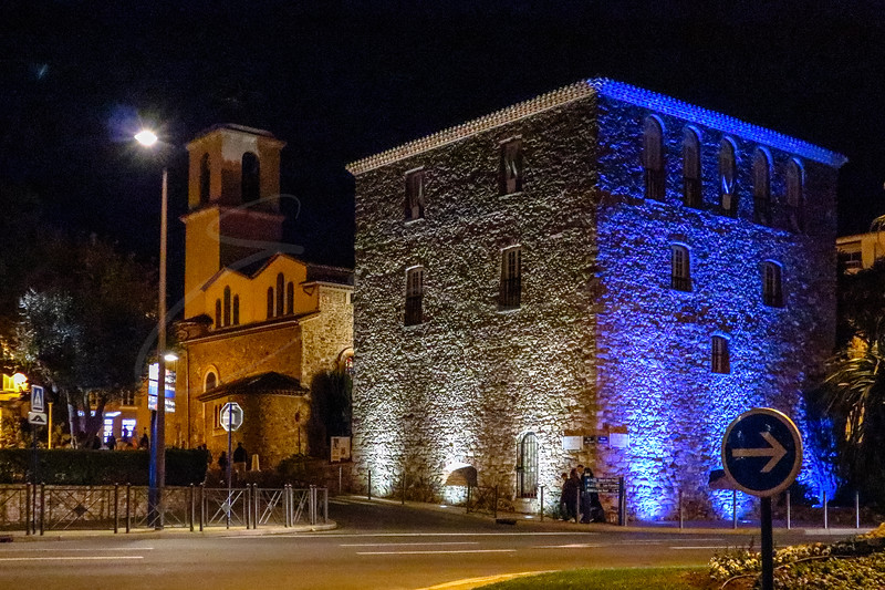 La Tour Carrée à Sainte-Maxime
