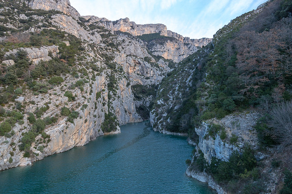 the lake Sainte-Croix at the end of the Verdon Gorge | le Lac de Sainte-Croix à la fin des Gorges du Verdon