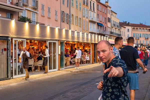 un joli jour à Saint Tropez