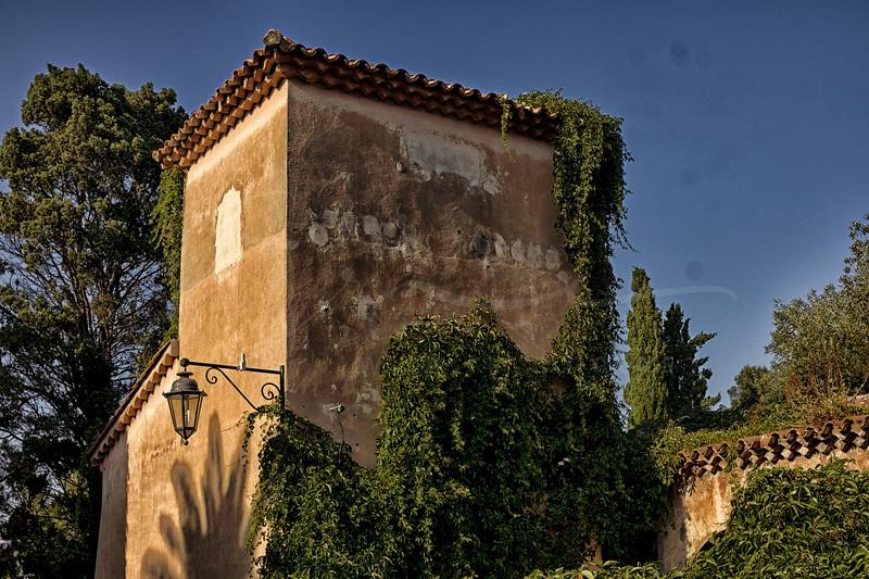 une vielle maison à Saint Tropez