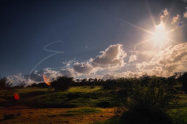le ciel à la campagne | the sky over the country