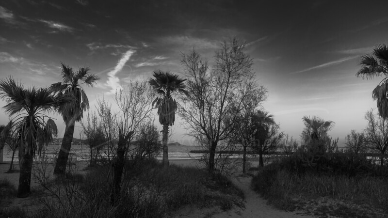 la plage Les Esclamandes à Saint-Aygulf