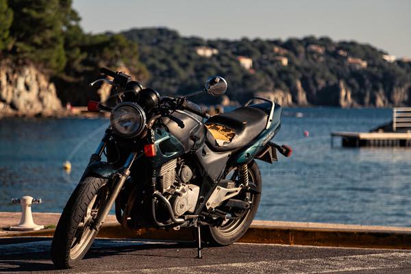 la moto perdue | the lost motorbike