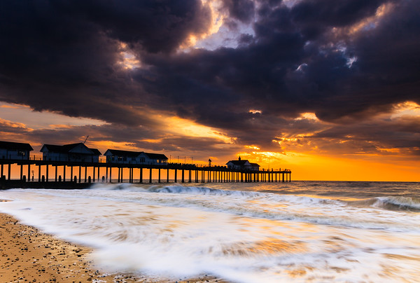 The Stormy Pier