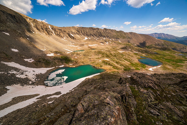 Alpine Lakes from Above