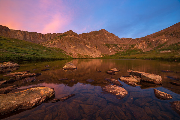Sunrise at Crystal Lake