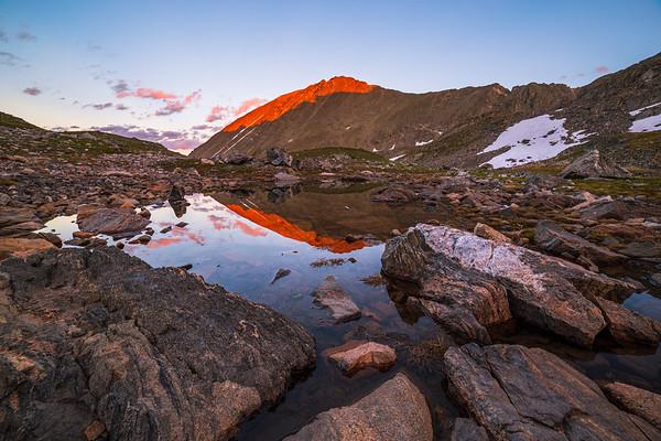 Quandary Peak Alpenglow