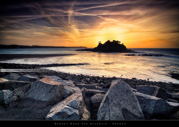 Brittany sunset