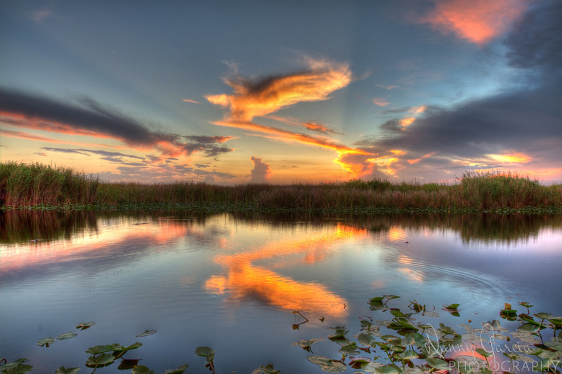"""Sunset in the Florida Everglades - I learned HDR Photography from Trey Ratcliff, and you can too!  Sign up for his course <a href=""""http://bit.ly/HDR-Workshop"""">HERE</a> if you are interested in doing this type of work as well!"""