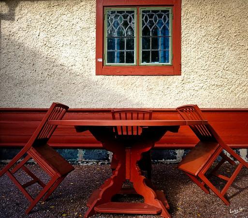 Chairs at Carl Larsson's House, Sundborn