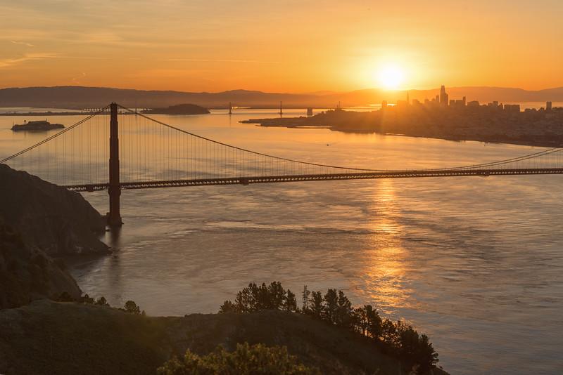 Golden Gate at Sunrise 5